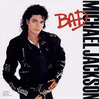 Michael jackson bad cd cover 1987 cdda